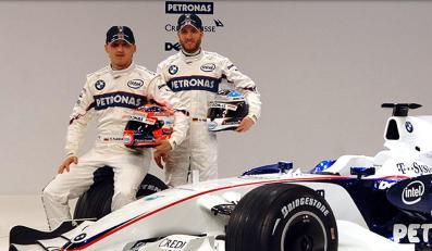 BMW Sauber zaprezentował bolid na sezon 2008