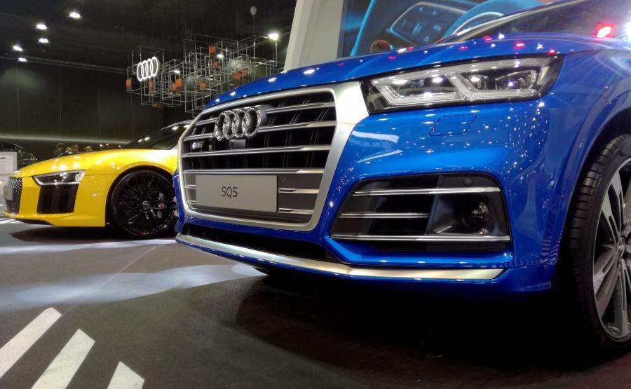 Audi SQ5 i Audi R8 Spyder