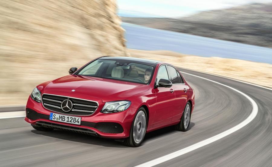 Mercedes klasy E - światowy luksusowy samochód 2017