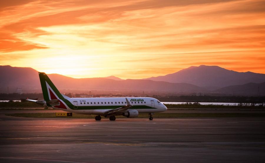 Samolot Alitalii