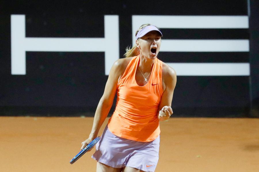 Maria Szarapowa wróciła na kort