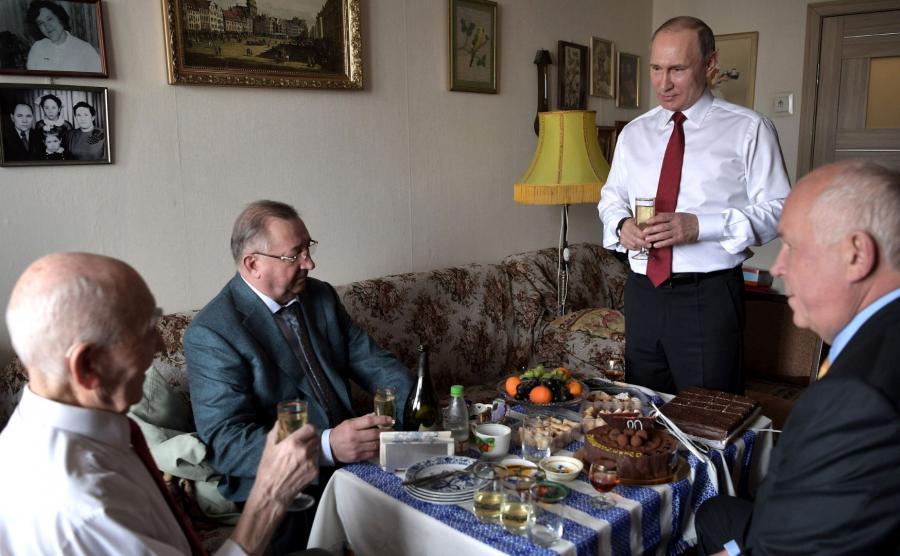 Łazar Matwiejew i Władimir Putin