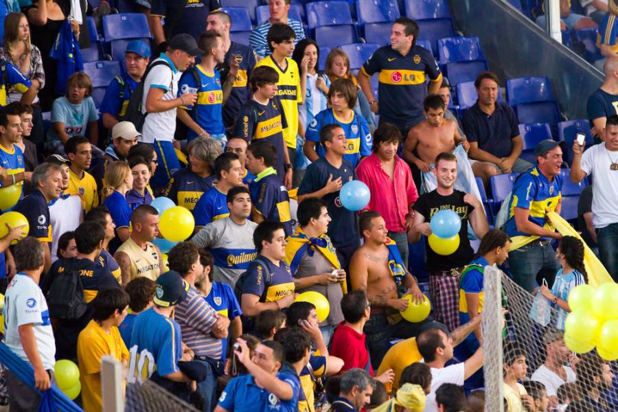 Kibice Boca Juniors