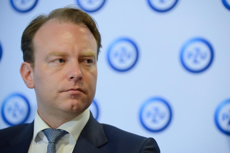 Prezes PZU SA Paweł Surówka