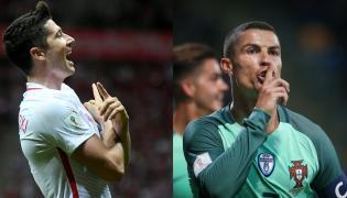 Cristiano Ronaldo i Robert Lewandowski