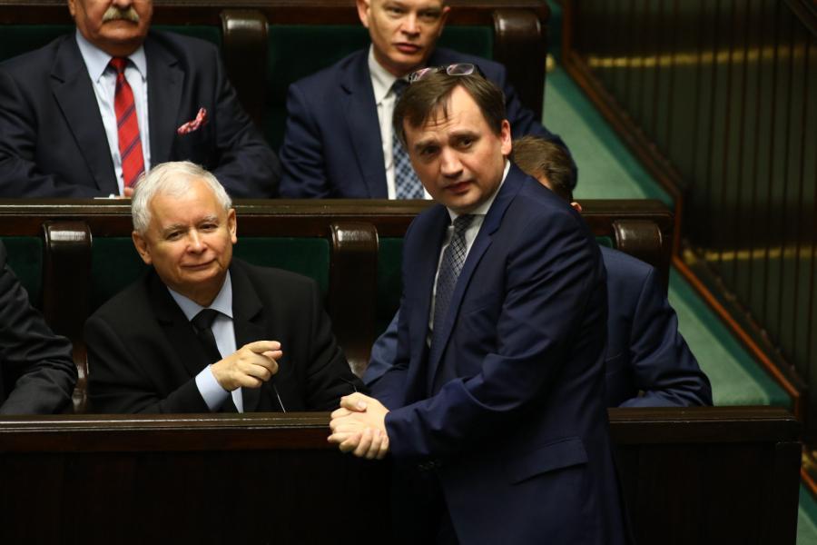 Jarosław Kaczyński Zbigniew Ziobro