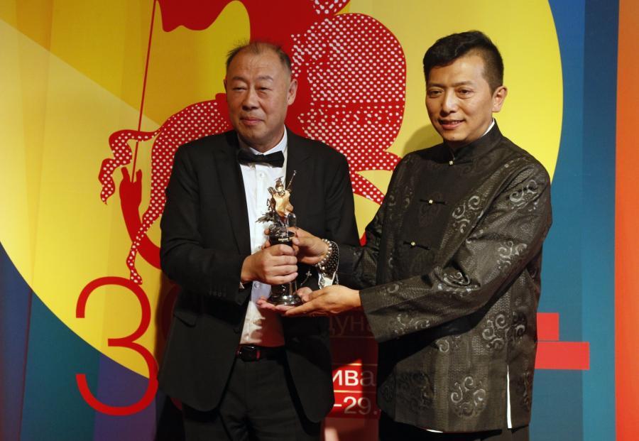 Duan Peng oraz Liang Qiao z nagrodą z Moskwy
