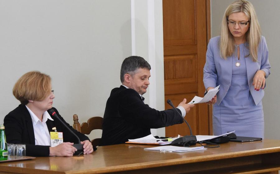 Prokurator Kijanko i Małgorzata Wassermann