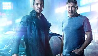 "Ryan Gosling oraz Harrison Ford w filmie ""Blade Runner 2049"""