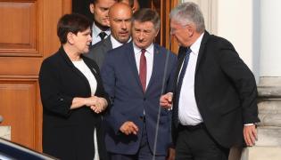 Beata Szydło, Marek Kuchciński, Stanisław Karczewski