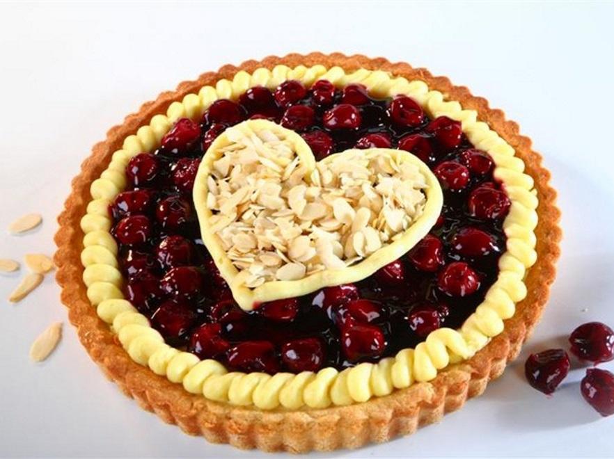 Tarta z wiśniami