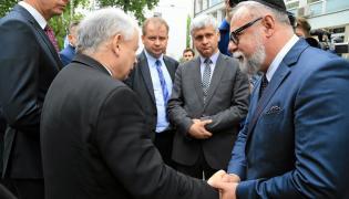 Prezes PiS podczas uroczystości upamiętniających likwidację getta w Białymstoku