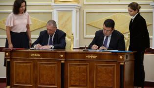 Minister Jan Szyszko w Kazachstanie