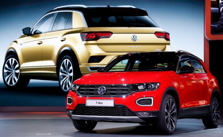 Volkswagen T-Roc miał światową premierę we Frankfurcie