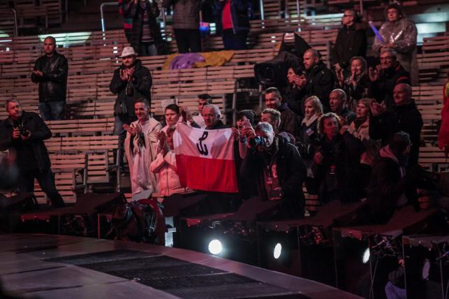 Opolski amfiteatr podczas koncertu Jana Pietrzaka