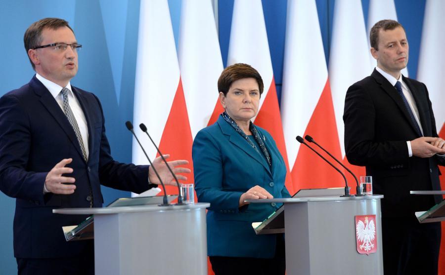 Beata Szydło, Mikołaj Wild, Zbigniew Ziobro