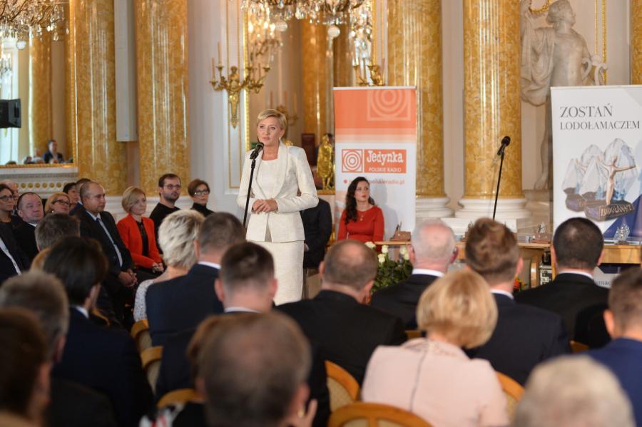 Agata Duda na gali Lodołamacze 2017