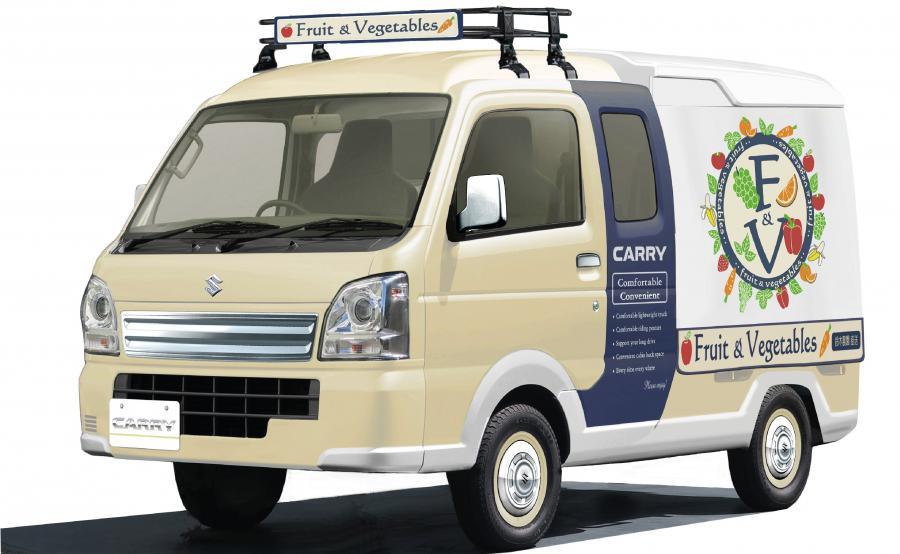 Suzuki CARRY OPEN-AIR MARKET