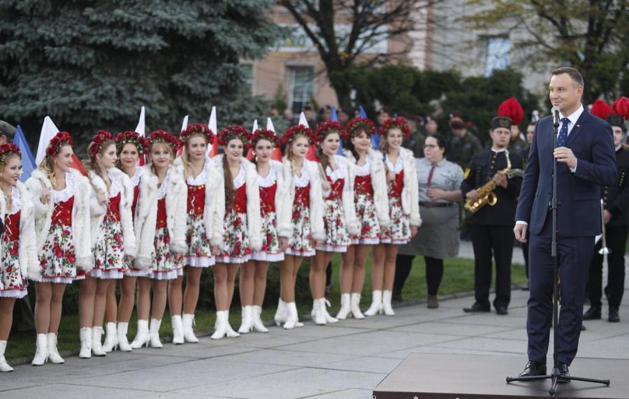 Prezydent Andrzej Duda w Wodzisławiu