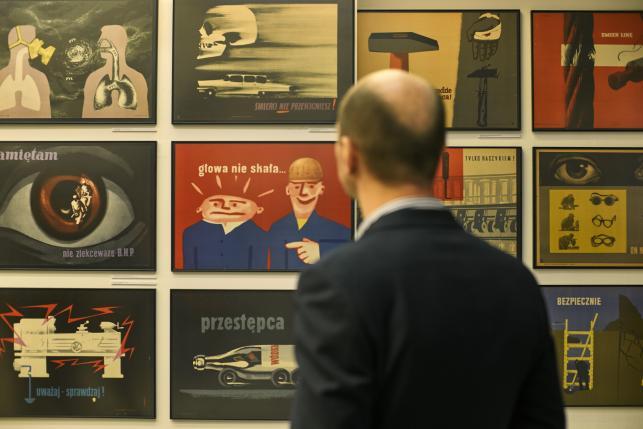 Z otwarcia wystawy (Fot. Bartosz Frątczak)