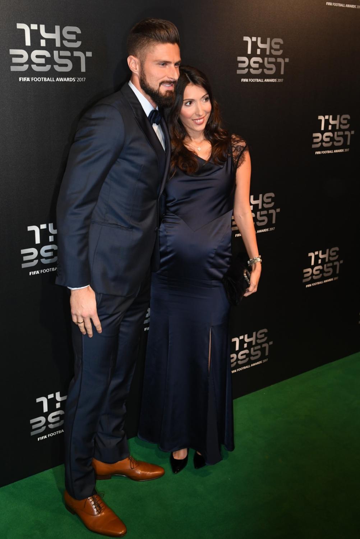 Olivier Giroud i Jennifer Giroud