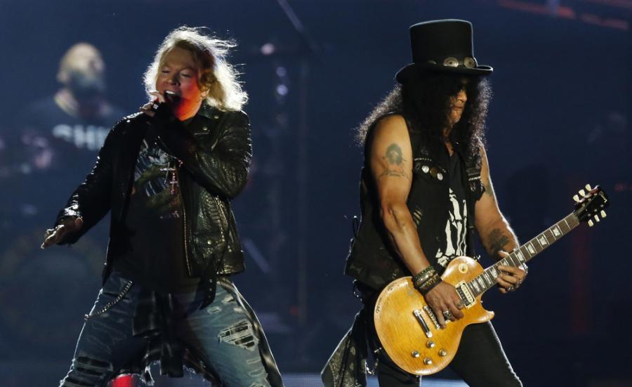 Guns \'N Roses w akcji