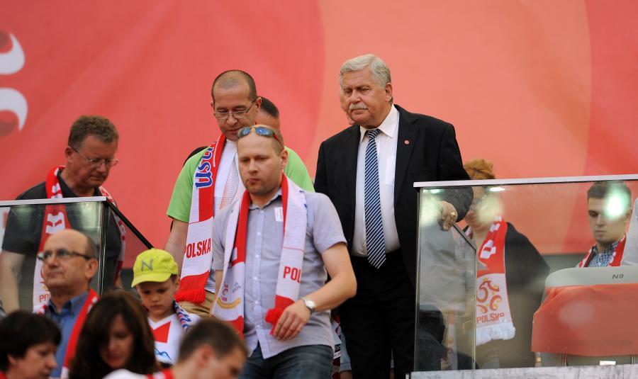 Jerzy Engel (z prawej)