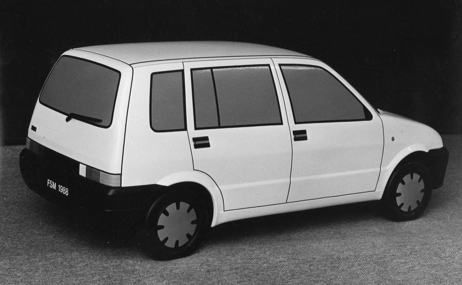 Beskid long - samochód miał 3,5 m długości, a sercem przedłużonego auta był silnik z bisa
