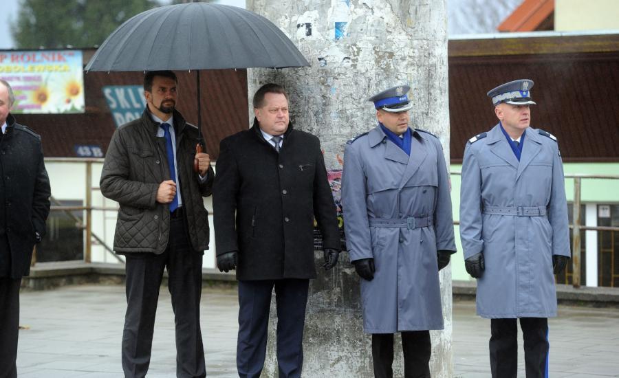 Minister Jarosław Zieliński w Wydminach