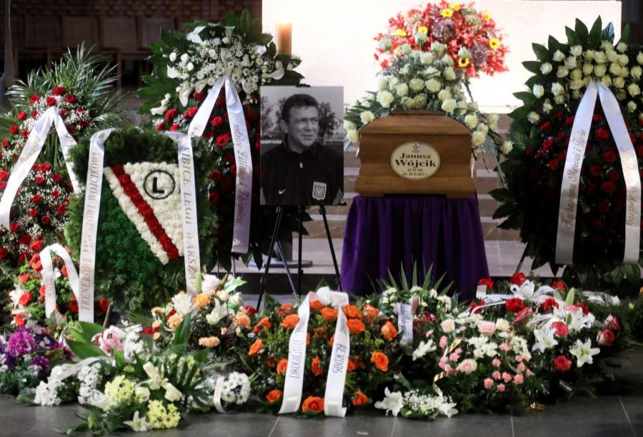 Pogrzeb Janusz Wójcika
