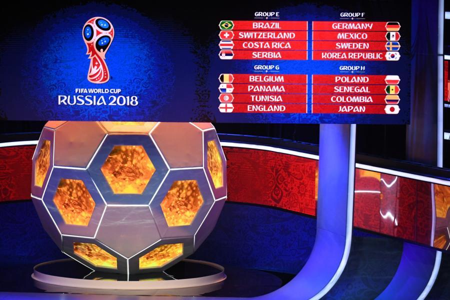 Ceremonia losowania grup mistrzostw świata 2018