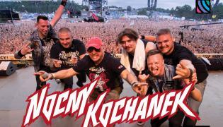 Okładka koncertowego wydawnictwa zespołu Nocny Kochanek