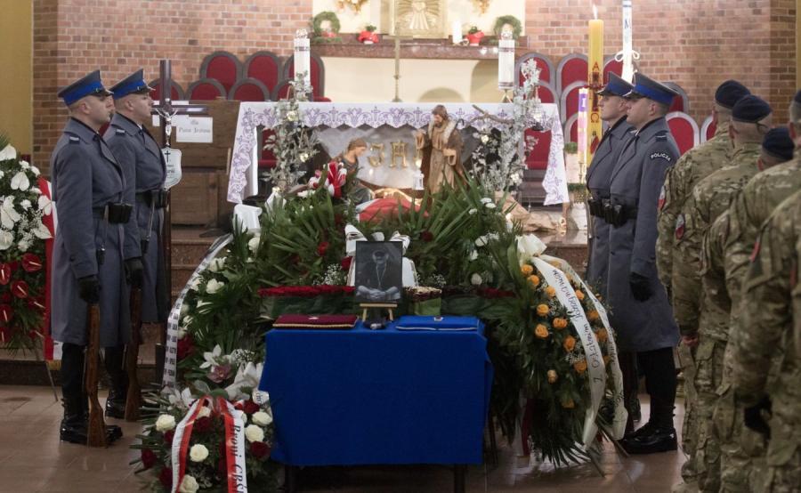 Pogrzeb policjanta