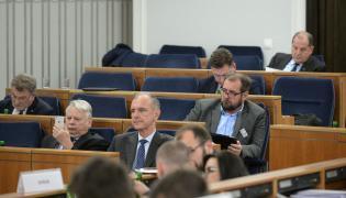 Obrady komisji senackiej