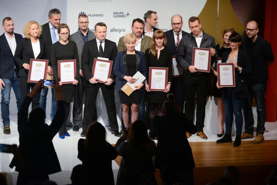 Laureaci nagród Grand Press 2017
