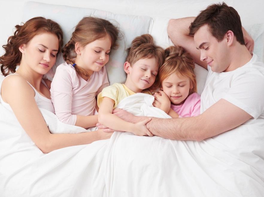 Śpiąca rodzina