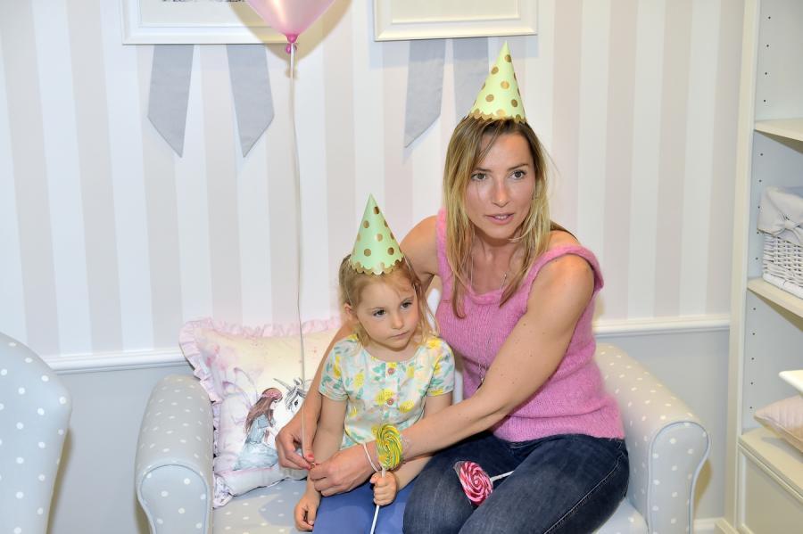 Sylwia Gruchała z córką