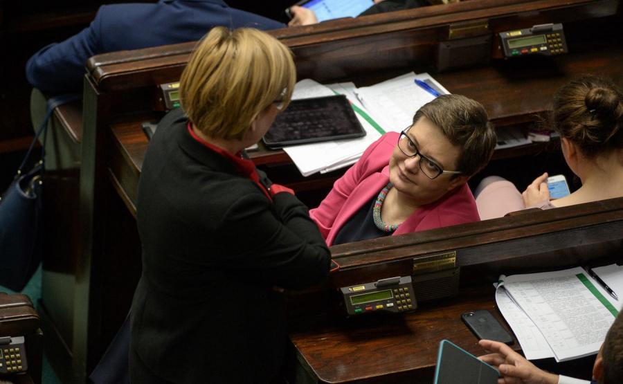 Katarzyna Lubnauer w Sejmie
