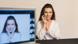 Marta Żmuda-Trzebiatowska w kampanii Avon