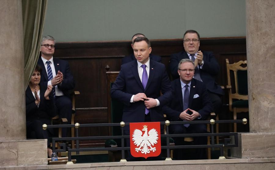 Prezydent w Sejmie