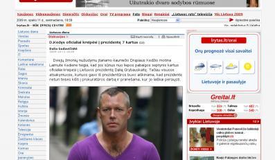 Litwin podejrzany o zabicie pedofila, który miał molestować jego córkę