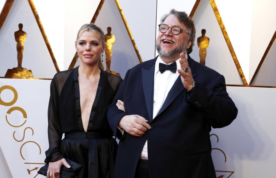 Guillermo Del Toro z żoną