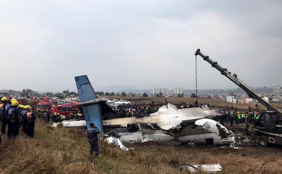 Katastrofa lotnicza w Katmandu