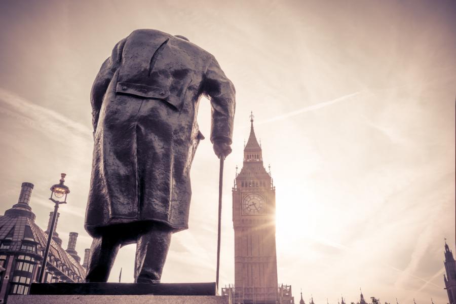 Pomnik Churchilla w Londynie