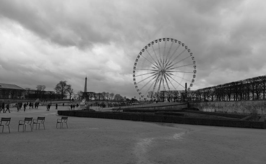 Czarno-biały Paryż, P20 Pro