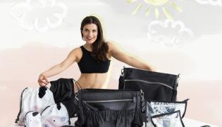 df25b5fcbc229a Kasia Kępka dołączyła do grona fit matek projektantek. Stworzyła kolekcję  akcesoriów dla znanej marki. FOTO