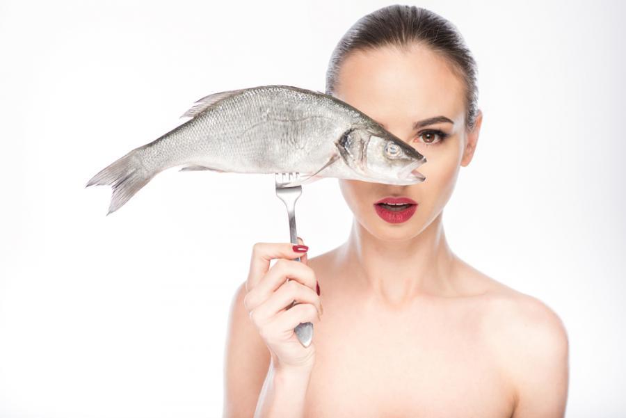 Ryba na widelcu