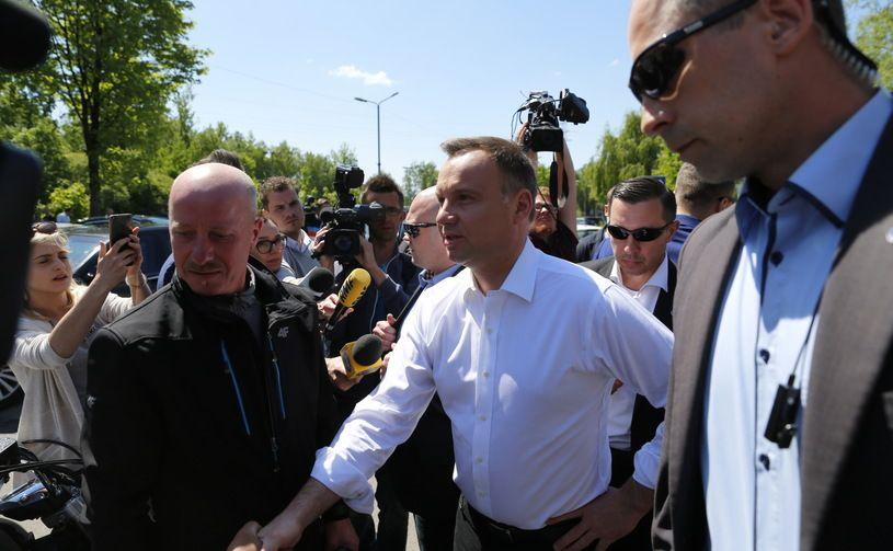 Prezydent Andrzej Duda w Zofiówce