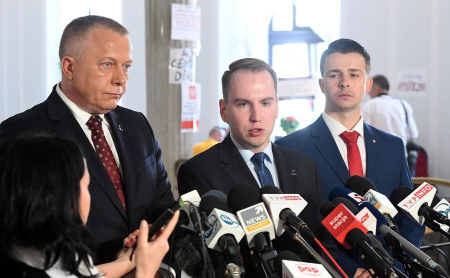 Adam Andruszkiewicz, Jarosław Porwich, Daniel Purwin