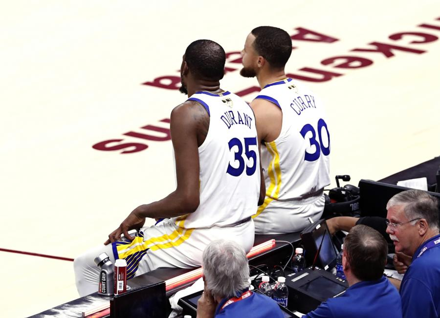Kevin Durant i Stephen Curry